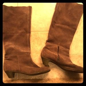 Anthropologie Shoes - Suede Boots